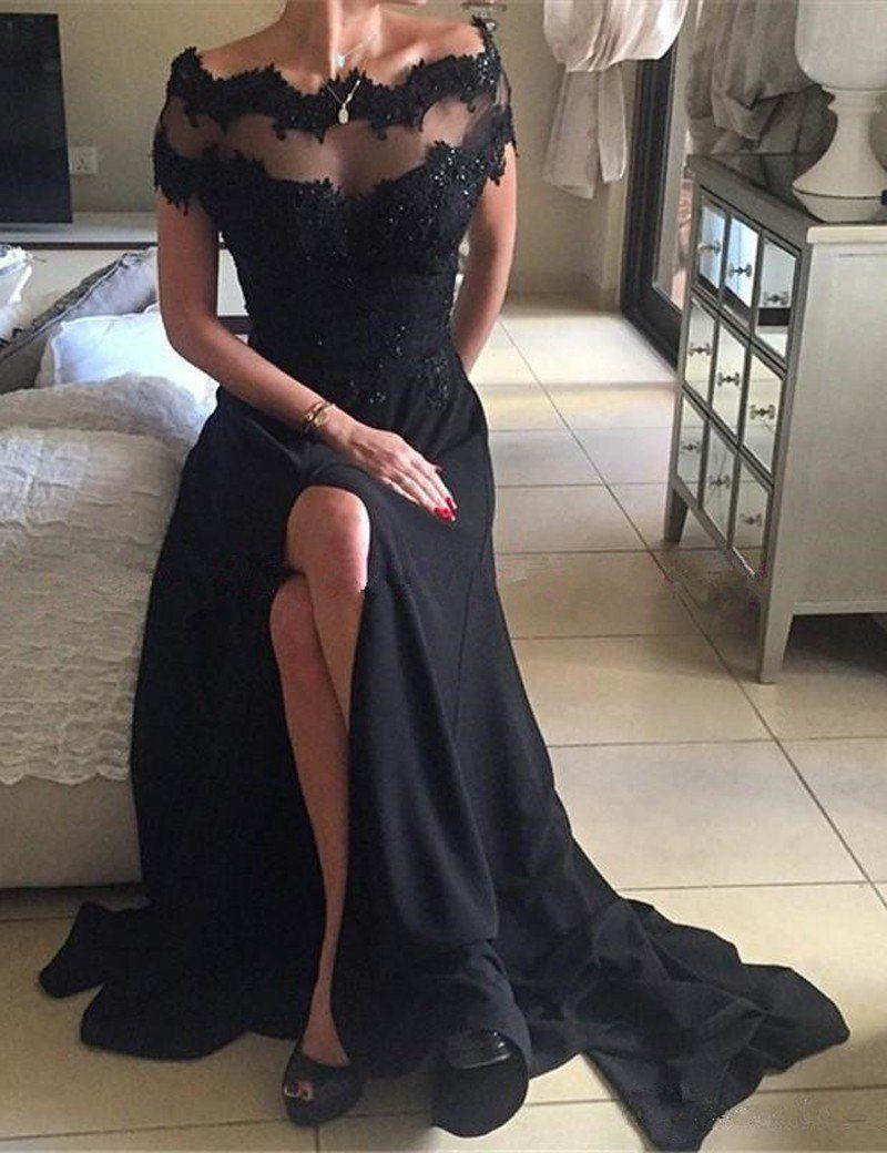 Aline deep vneck floorlength royal blue taffeta prom dress with