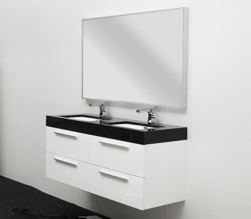 salles de bains contemporaines azzura mobilier bain Bathrooms