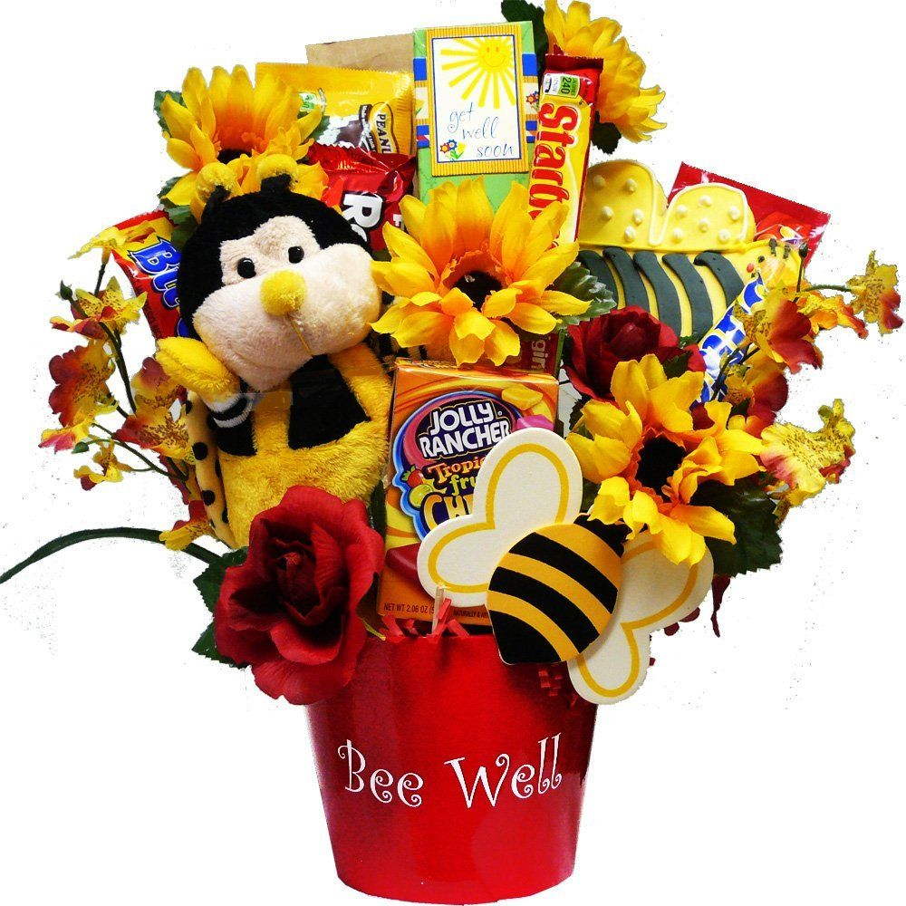 Art Of Appreciation Gift Baskets Bee Well Soon Chocolate And Candy