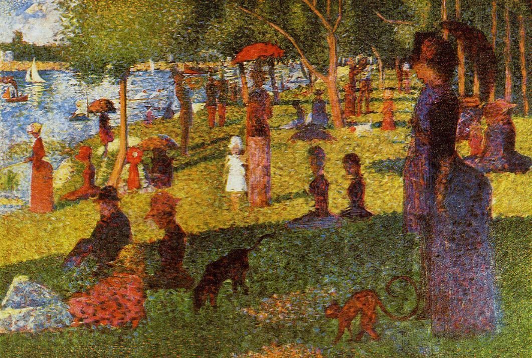 The Athenaeum - An Afternoon at La Grande Jatte (Georges Seurat - )