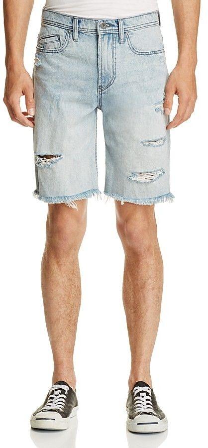 Blank NYC BLANKNYC Denim Slim Fit Cutoff Shorts