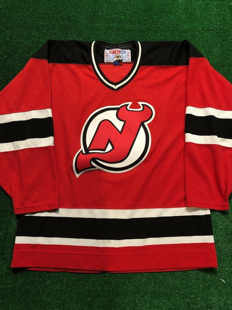 official photos 5f05d f5aed NHL New Jersey Devils 90s Ice Hockey Jersey. | Ice Hockey ...