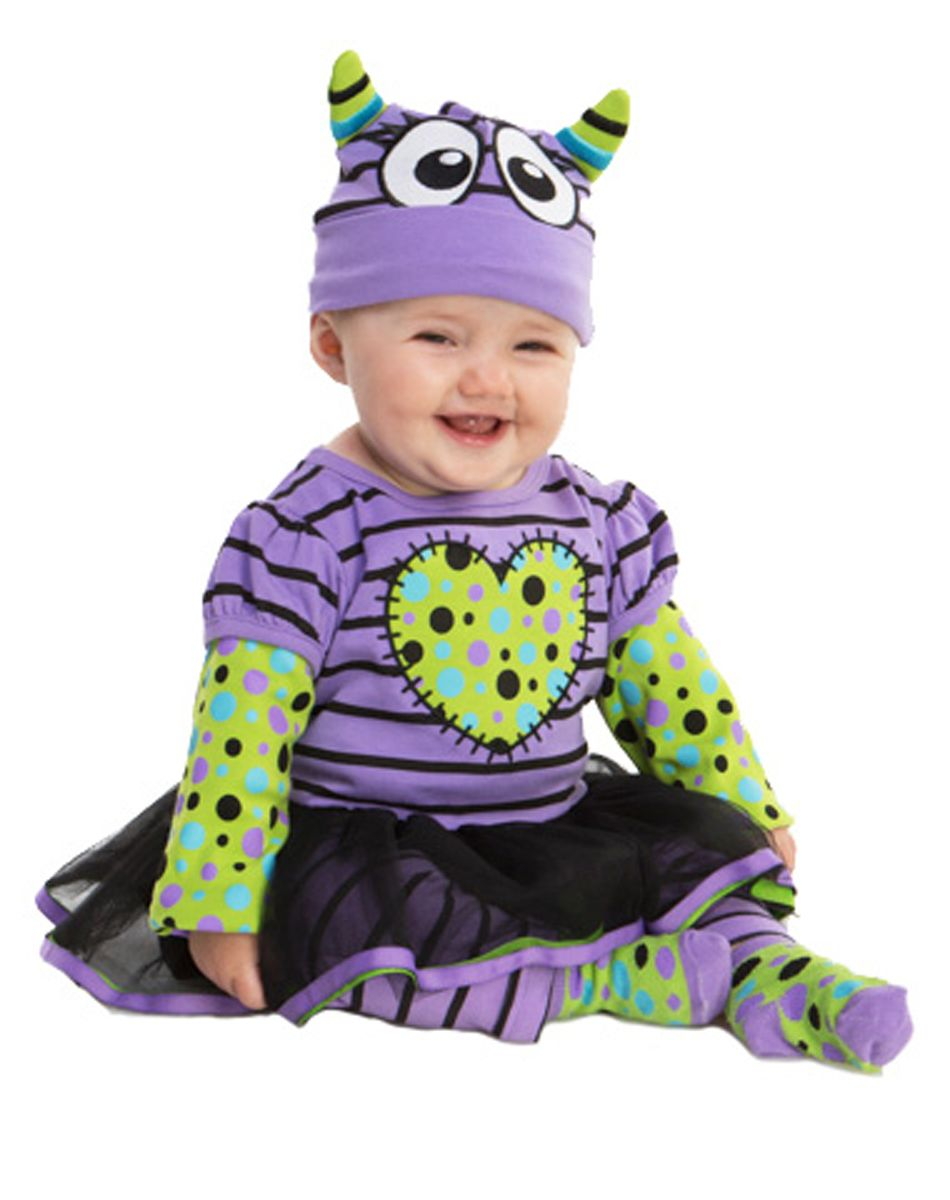 Purple Boo Monster Baby Costume exclusively at Spirit Halloween - Itu0027ll be difficult to scare anyone when your little one is looking so cute in this Purple ...  sc 1 st  Pinterest & Purple Boo Monster Baby Costume exclusively at Spirit Halloween - It ...