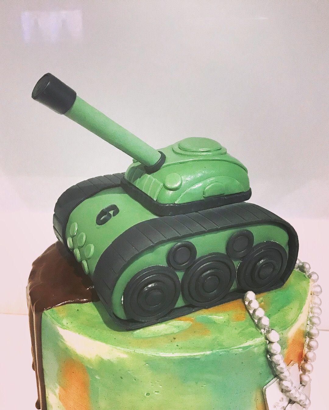 Fondant Army Tank Tank Cake 6th Birthday Cakes Camouflage Cake