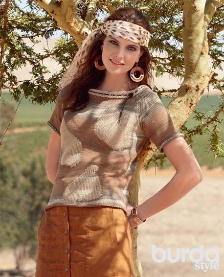 378Схема вязания пуловера спицами с описанием для женщин