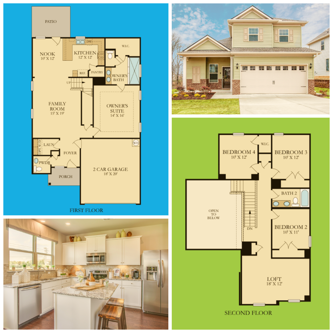 Spotlighthome For Decortiptuesday Is The Primrose The Primrose Is A Two Story Single Family Home With 2 186 Squ New House Plans House Plans Building A House