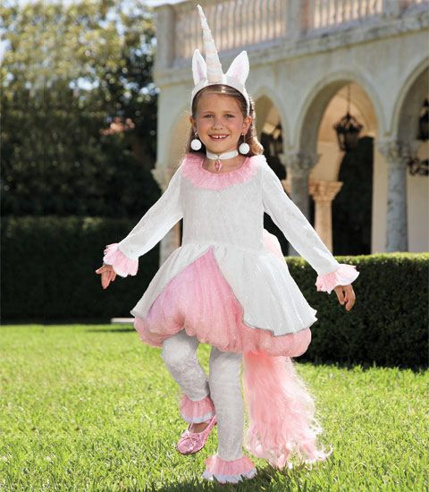 magical unicorn child costume - Chasing Fireflies - gonna use this as the basis for N's