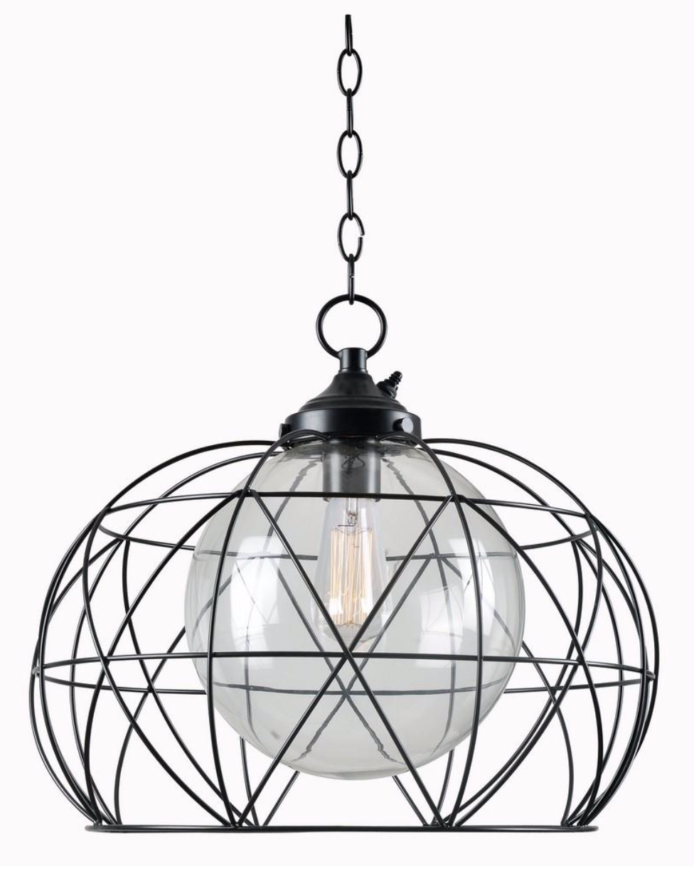 Edgy Contemporary Style Meets The Great Outdoors This 1 Light Outdoor Pendant Is A Plug And Pla With Images Outdoor Hanging Lights Outdoor Ceiling Lights Outdoor Lighting