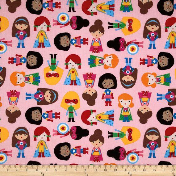 Superhero Crib Sheet - Supergirl Theme - Cotton Crib Sheet ...