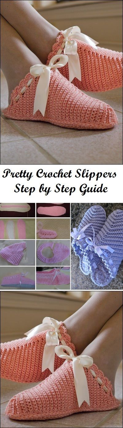 Simple Slippers to Crochet