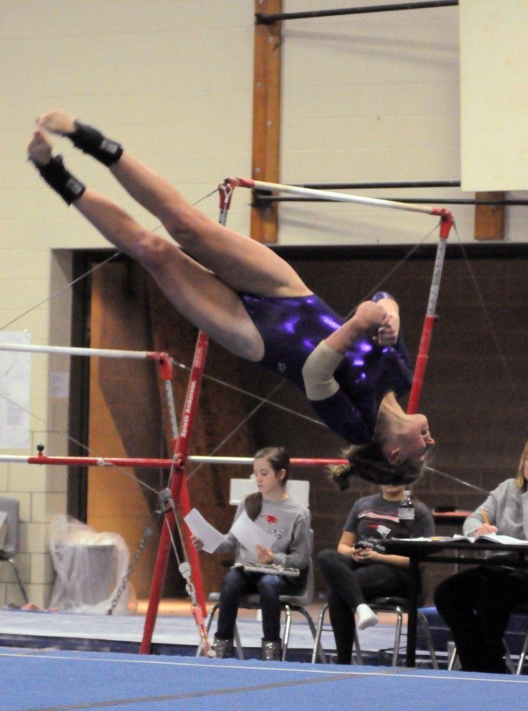 Gymnastics - 2015 Floor - Marion High School Sports, Marion, IN