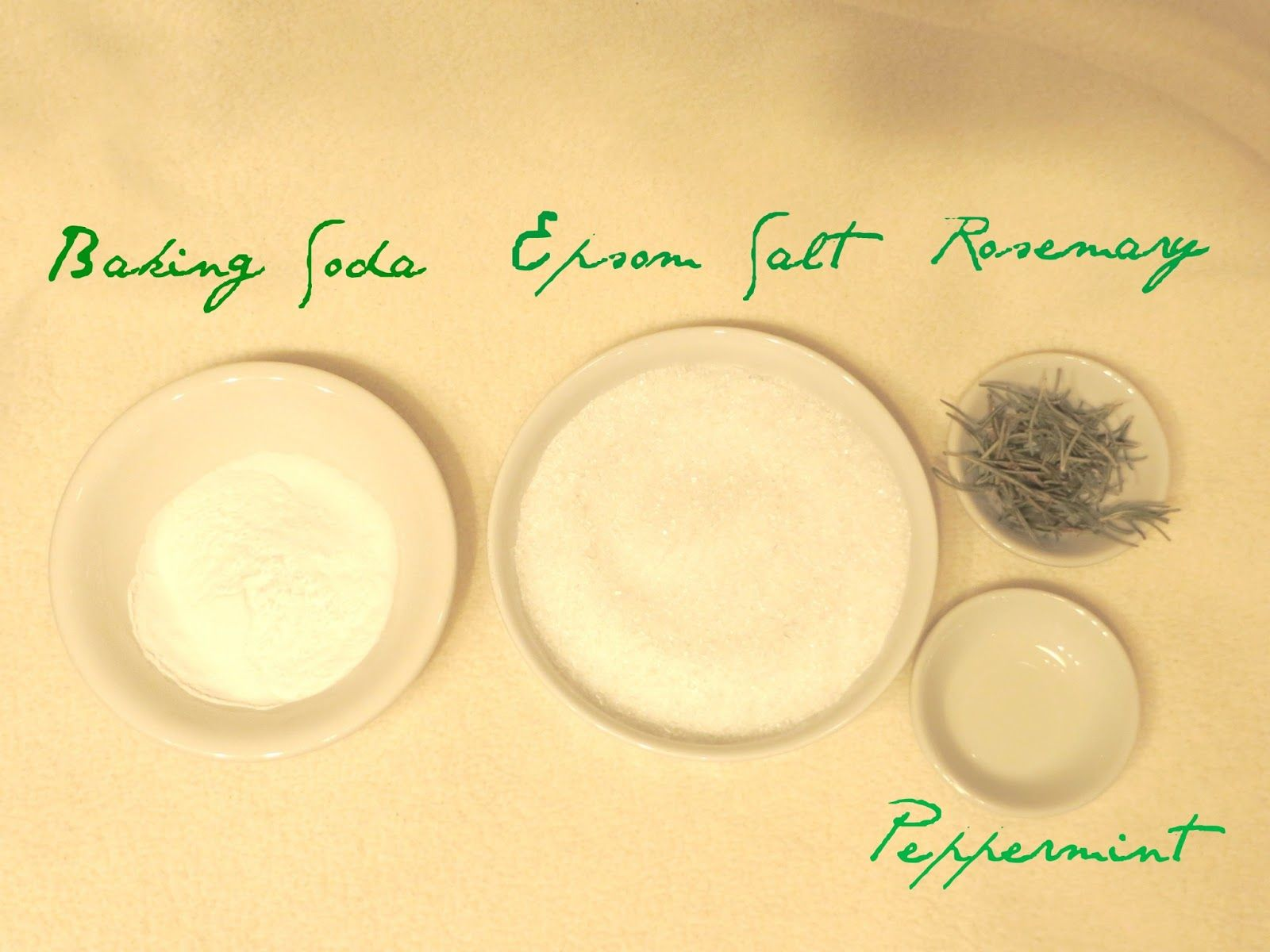 E l l e S e e s: Beauty DIY: Rosemary Mint Bath Salts