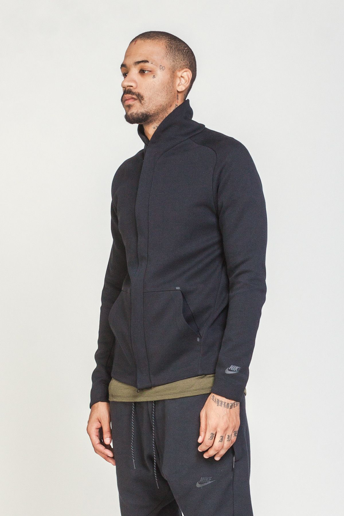 Nike Sportswear Tech Fleece Jacket Black Long sleeve