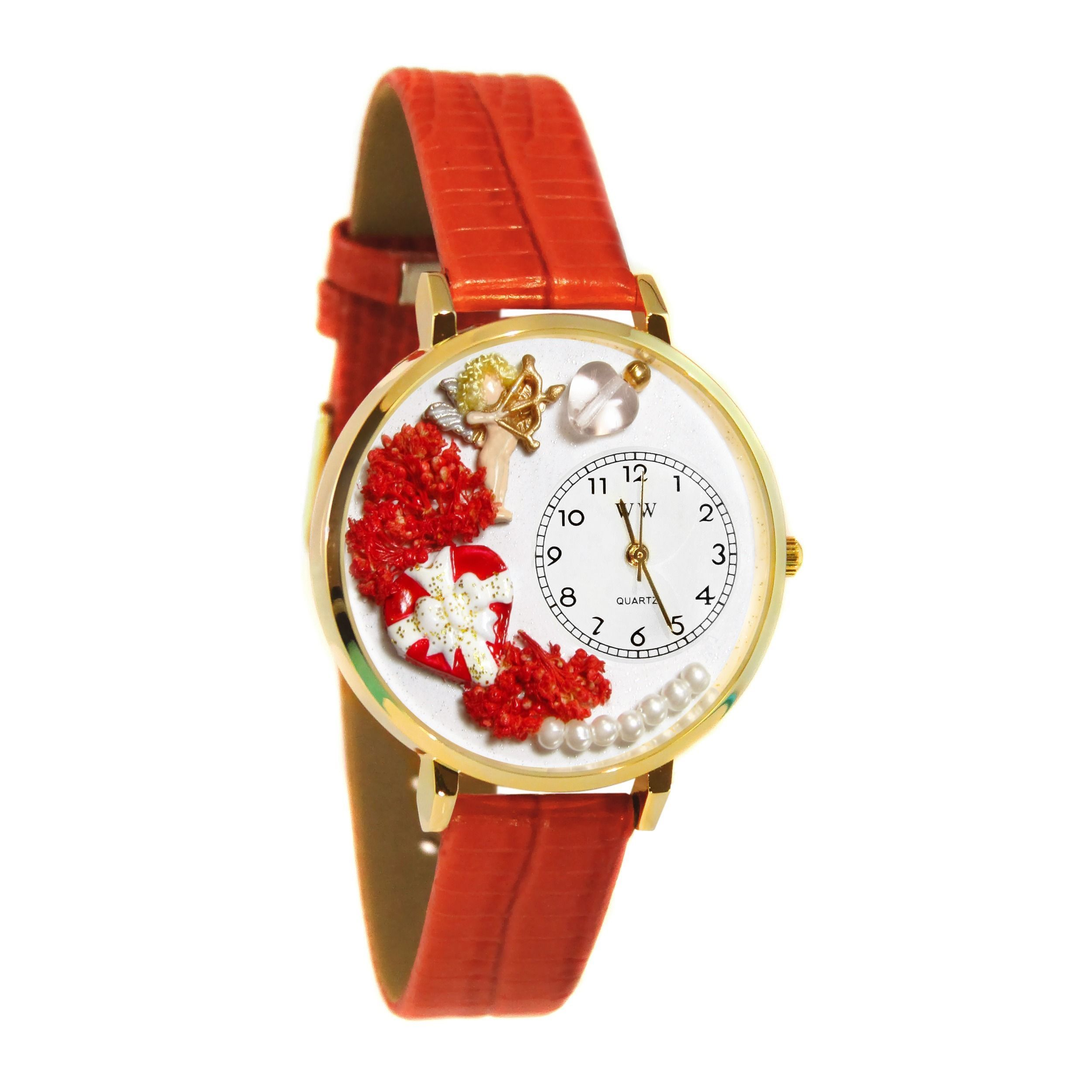 thin red with markers pin the hour two fits wrist bezel hands gold watches leather and plated