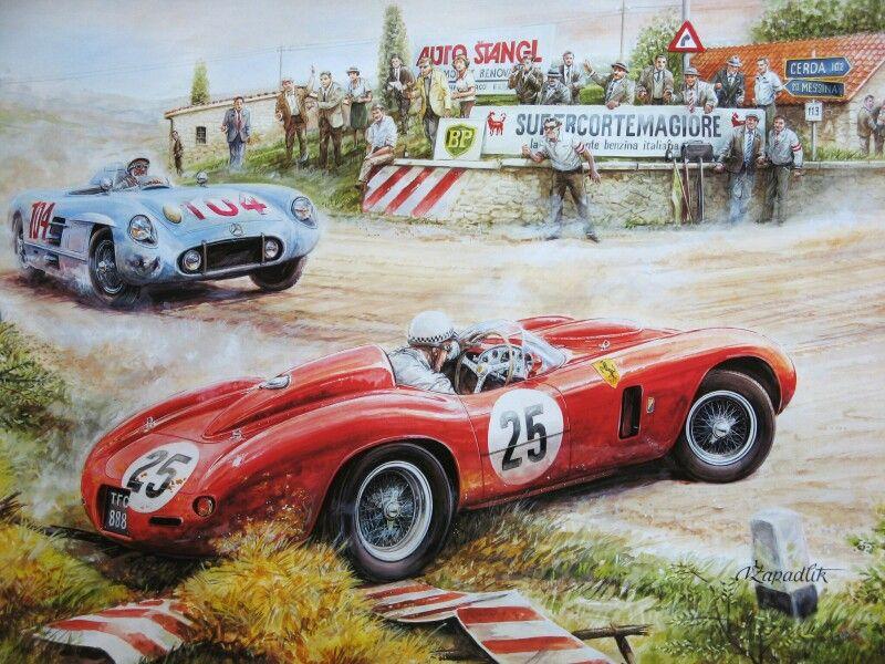 Race Car Art.