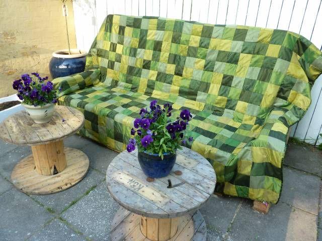My boyfriends pallet sofa - of own design  - Part 7