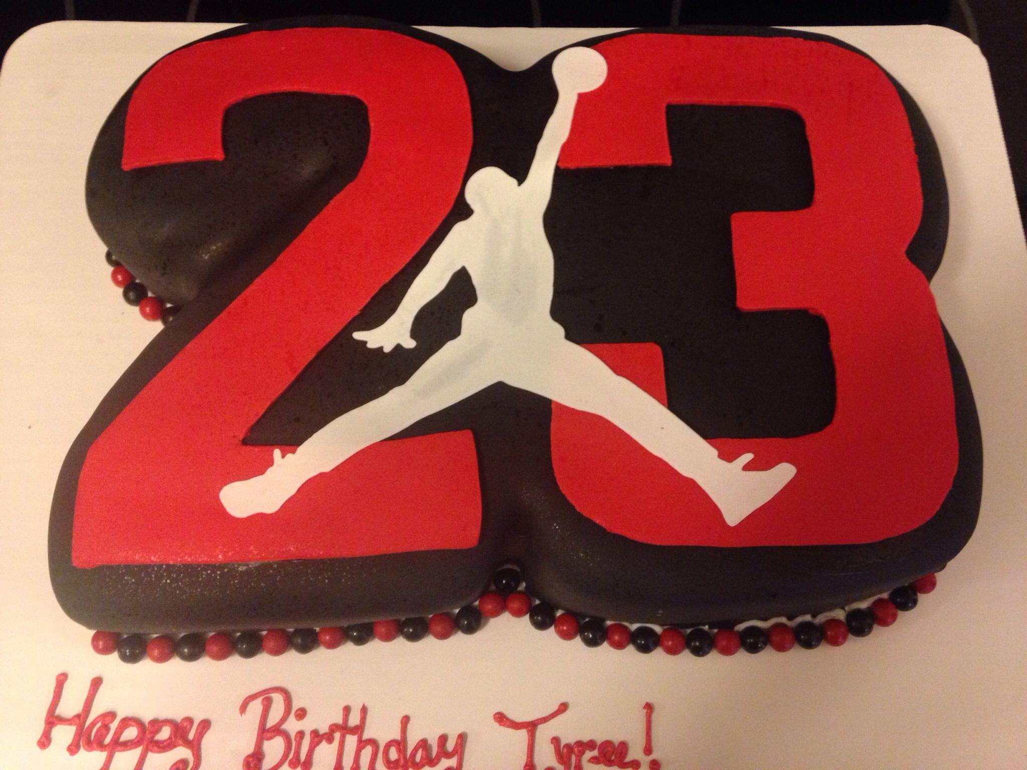 23 Jordan cakemy Jordan has a few years till his 23rd bday but