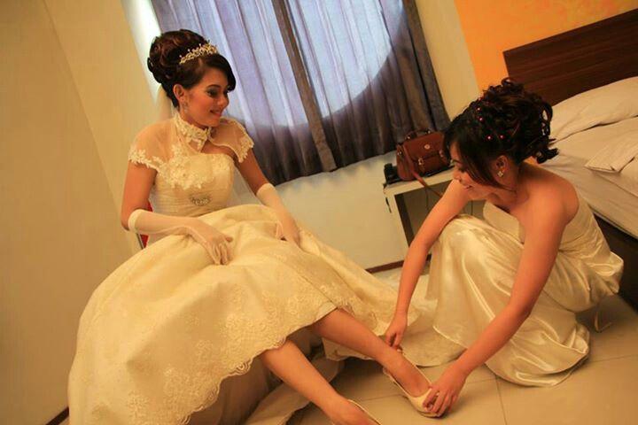 My sista's wedding