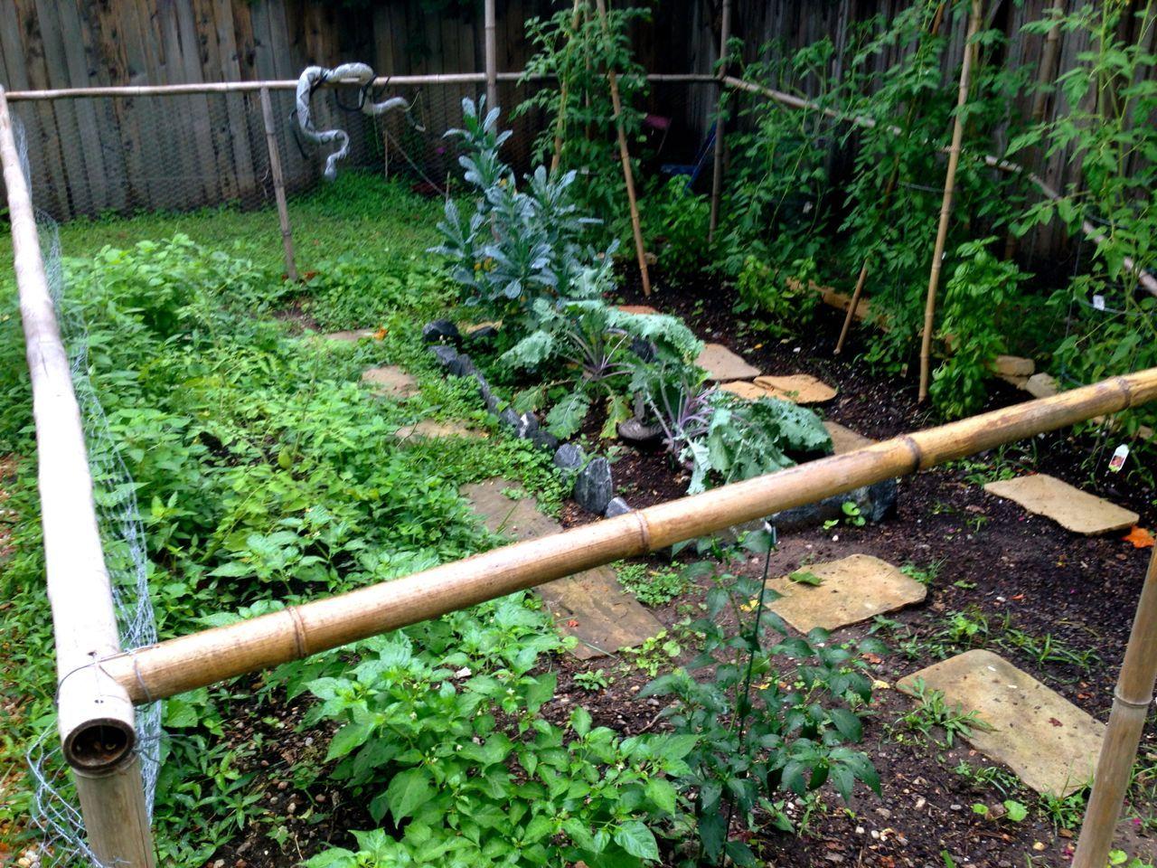 7 6 13 - Garden overrun detail