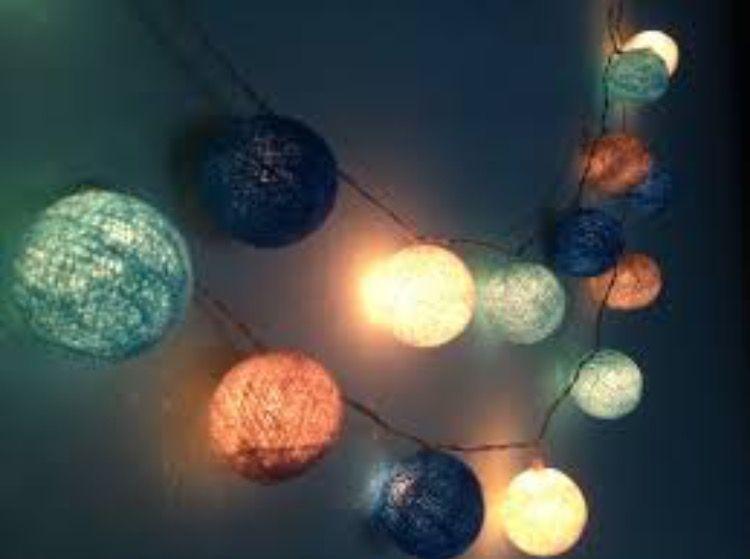 Decorative Ball Lights Pinkara Dillon On Room Decor  Pinterest  Room Decor And Room