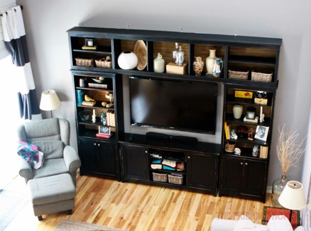 Ana White   Build a Media Bridge for Book Entertainment Center   Free and Easy DIY Project and Furniture Plans