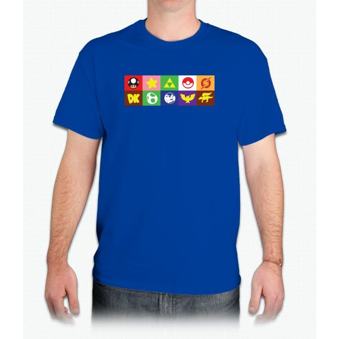 6166d58c9 N64 Smash Bros Emblems Pikachu - Mens T-Shirt N64 Smash Bros Emblems  Pikachu -