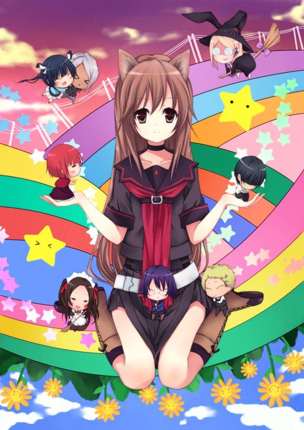 OKAMI SAN AND HER SEVEN COMPANIONS | °OKAMI SAN AND HER ...Ookami San To Shichinin No Nakama Tachi Characters