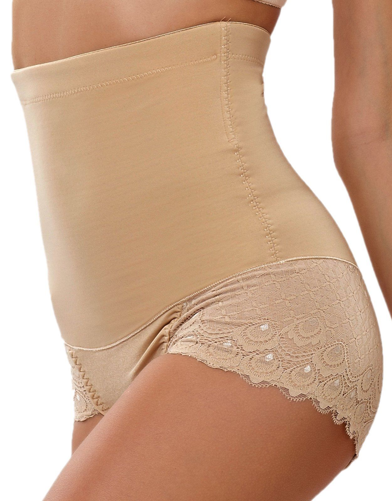 bce2cd00e975d Lynmiss Body Shaper Butt Lifter Shapewear High Waist Tummy Control Panty Slim  Waist Trainer BeigeL     More info could be found at the image url.