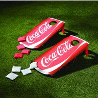 Coca-Cola Bean Bag Toss — Toss It in the Trunk for Travel