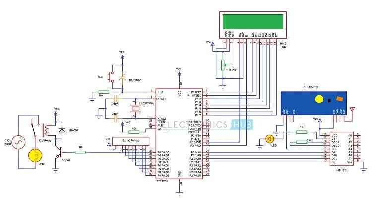 RF based Home Automation using 8051 | Arduino & Raspberry PI | Home