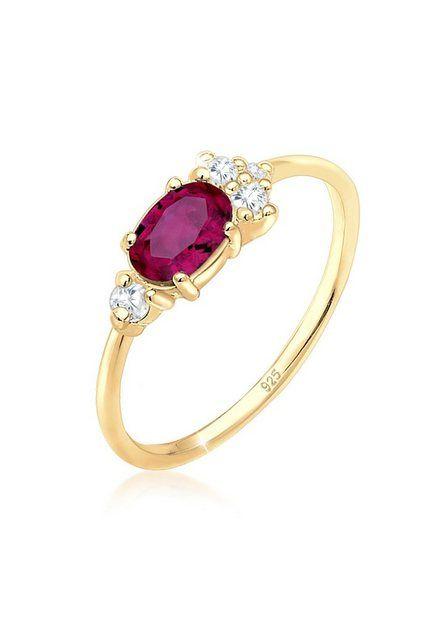 Damenring Gold Silber Zirkonia Kristall Verlobungsring Ringe Ehering Modeschmuck