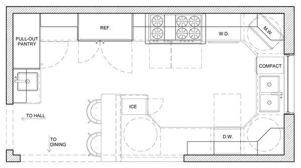 Country Kitchen Floor Plans | Kitchen Design Ideas | Pinterest ...