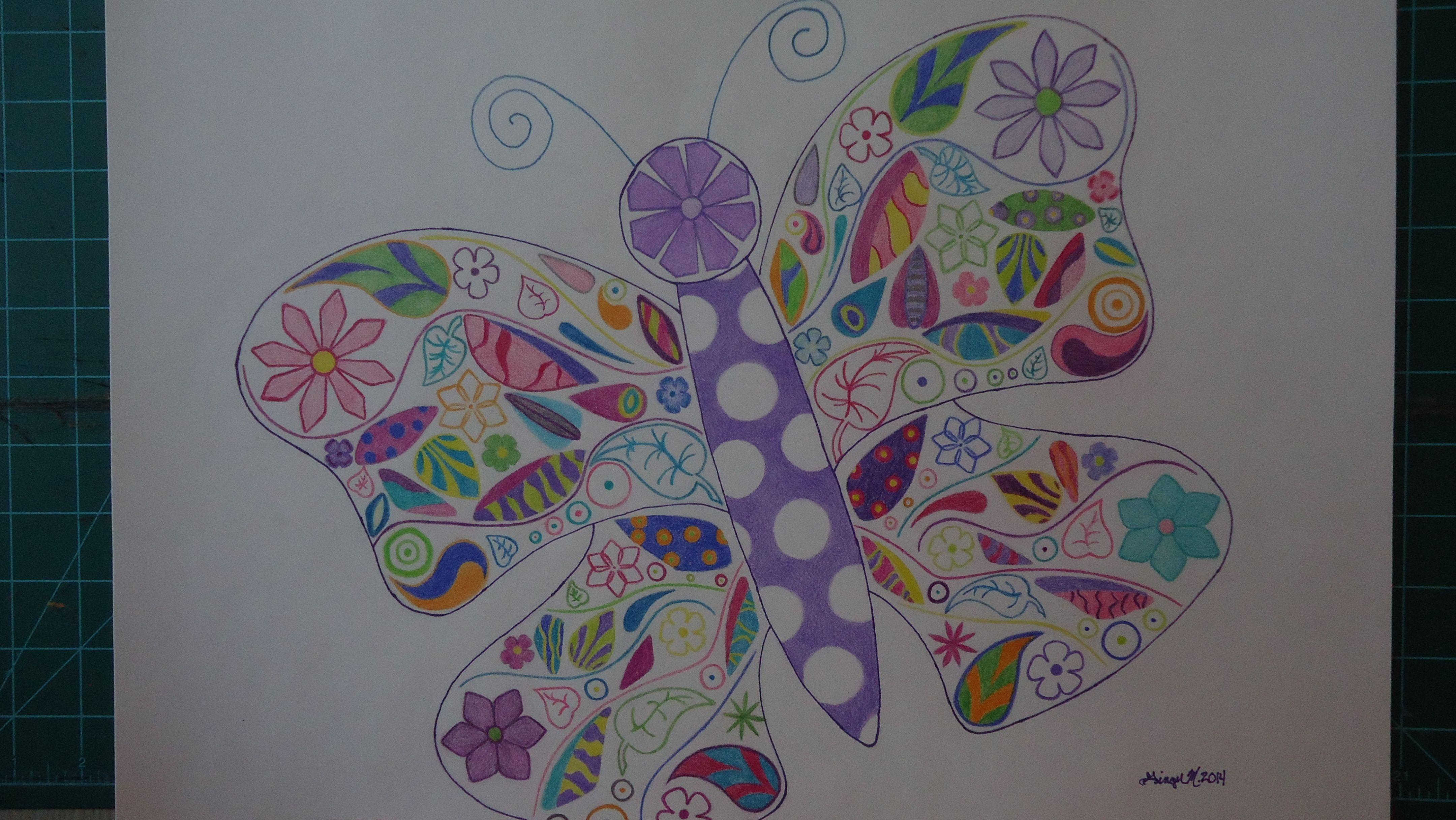 Springtime Butterfly