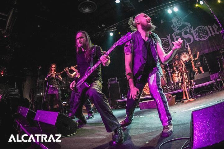 Saint Patrick's day Milan Folkstone \m/ #Saint #Patrick #Day #SanPatrizio #Italia #Milano #Milan #Alcatraz #Rock #Metal #Folk #FolkMetal #Rockfolk #celticmetal #concert #stone #italy #love #green #lucky #guitar #bagpipes #followforfollow #likeforlike by sherleysevenfold