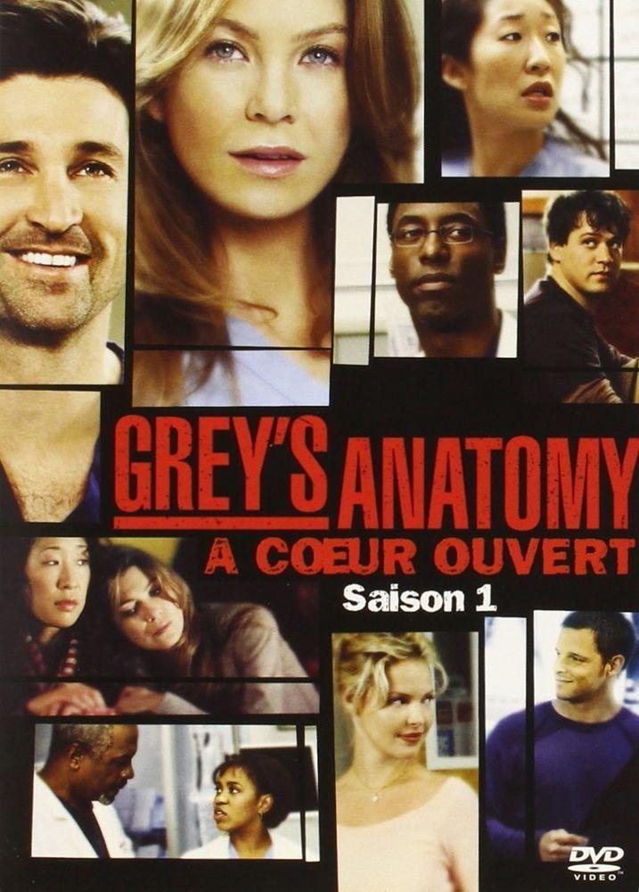 Grey s Anatomy (À coeur ouvert) - Saison 1 - DVD NEUF SERIE TV | DVD ...