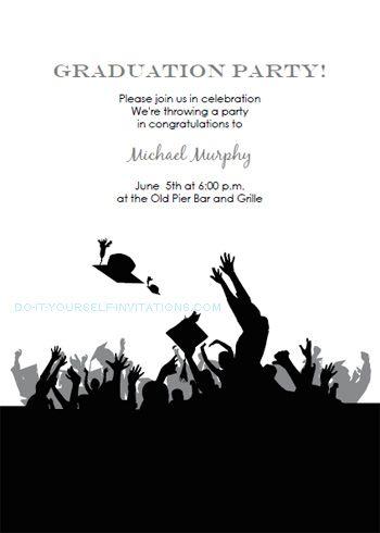 17 Best images about Graduation Party Invitation on Pinterest ...