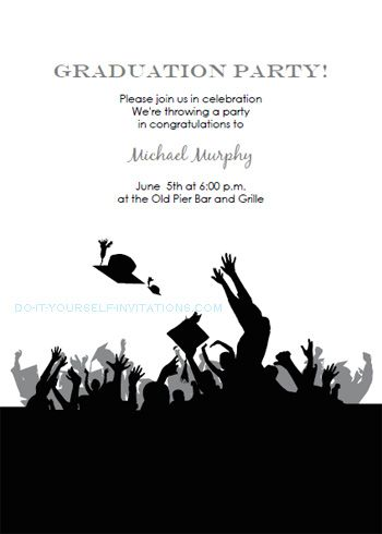 Free Graduation Invitation Templates Free Printable Graduation