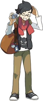 Pokemon XY M Tourist
