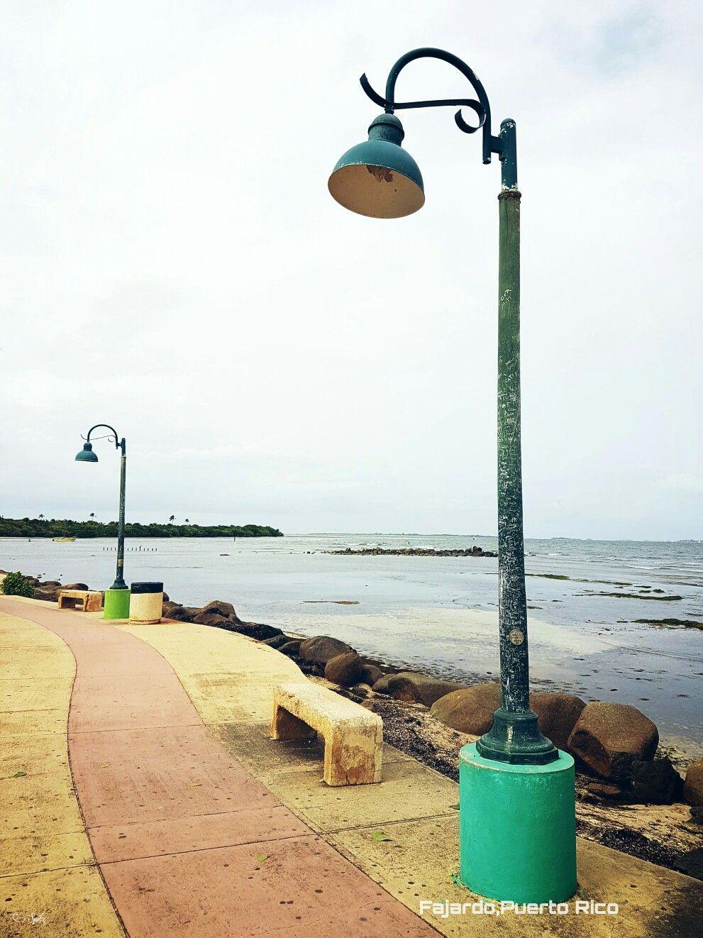 Parque pasivo de las croabas en el pueblo de Fajardo.Puerto Rico.