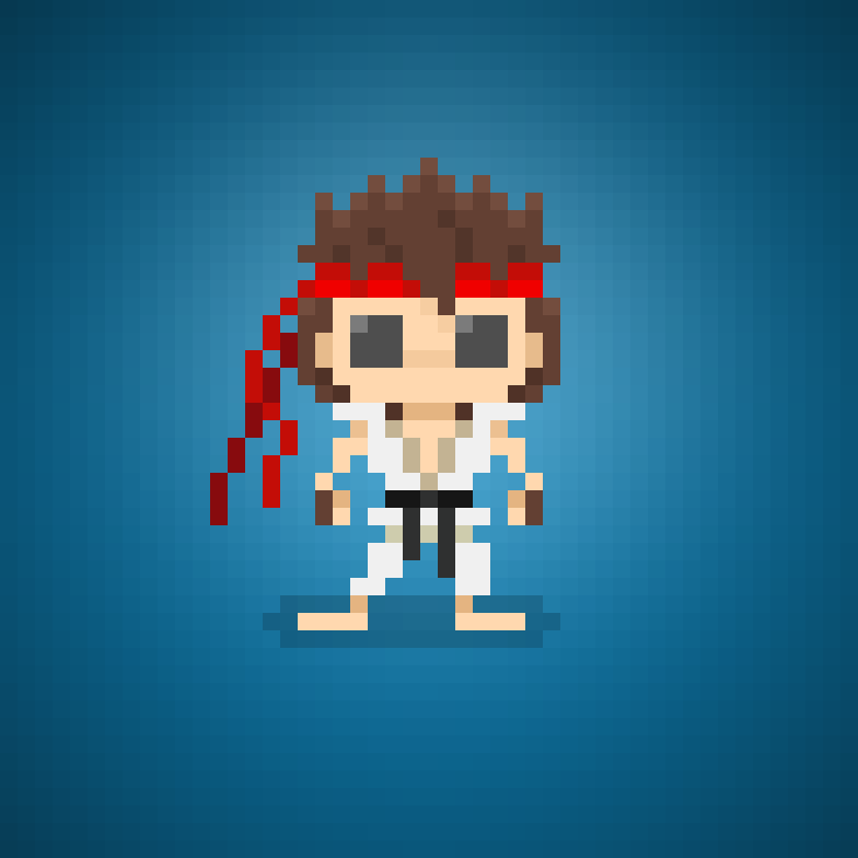 Ryu From Street Fighter Ii The World Warriors 25th