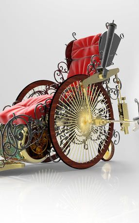 See Wheelchairs Reimagined As Tricked Out Steampunk Rides