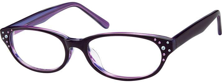 ecdfa0fadd Purple Acetate Full-Rim Frame  10487217