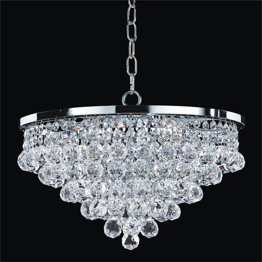 Chandelier 15 inch w vista 628 glow in 2020 crystal