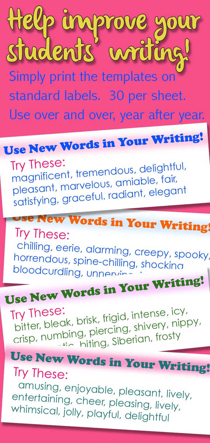 Writing Stickers! Give Feedback Quickly, Expand Vocabulary