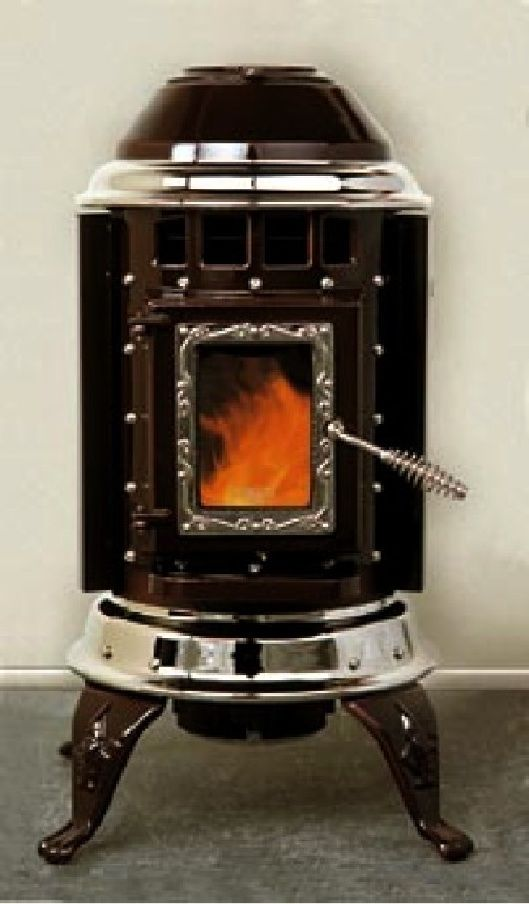 The Thelin Little Gnome Pellet Stove Has The Lowest Emissions Of Any Stove We Could Find This Compact Parlor Style Sto Pellet Stove Stove Wood Stove