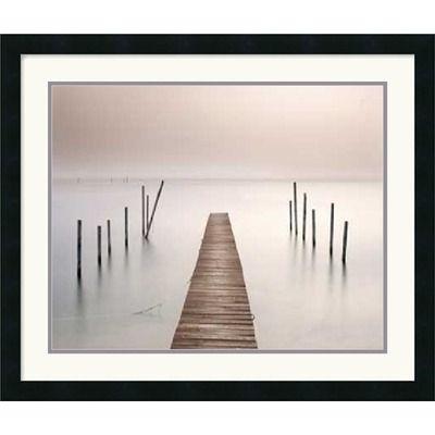 Lake Walk I Framed Art Print by Jonathan Chritchley
