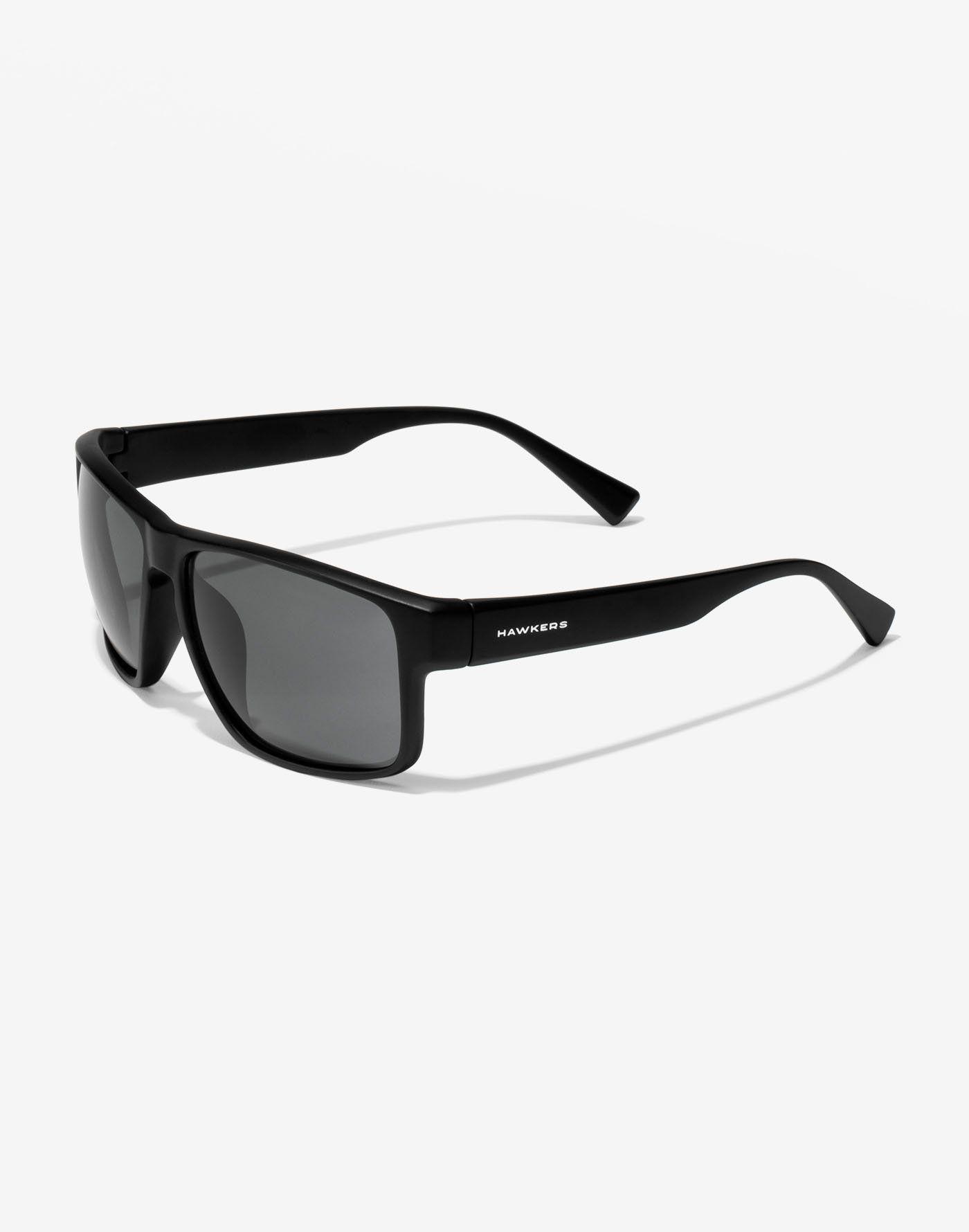 Mens Classic Black Rectangular Sports Army Style Polarised Cat3 Sunglasses UV400
