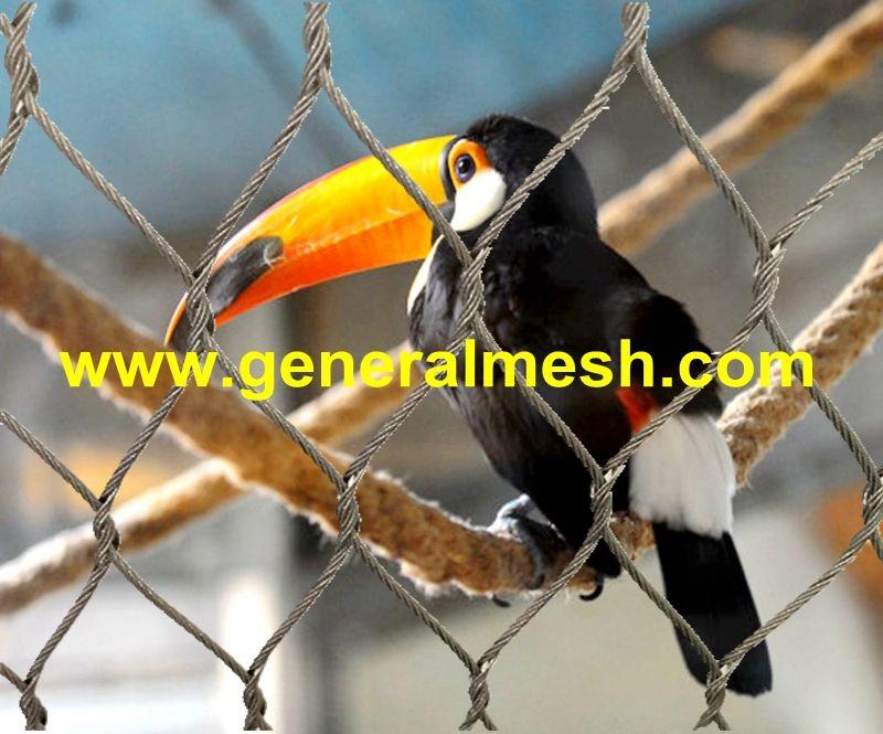 stainless steel aviary mesh, aviary wire fencing, aviary