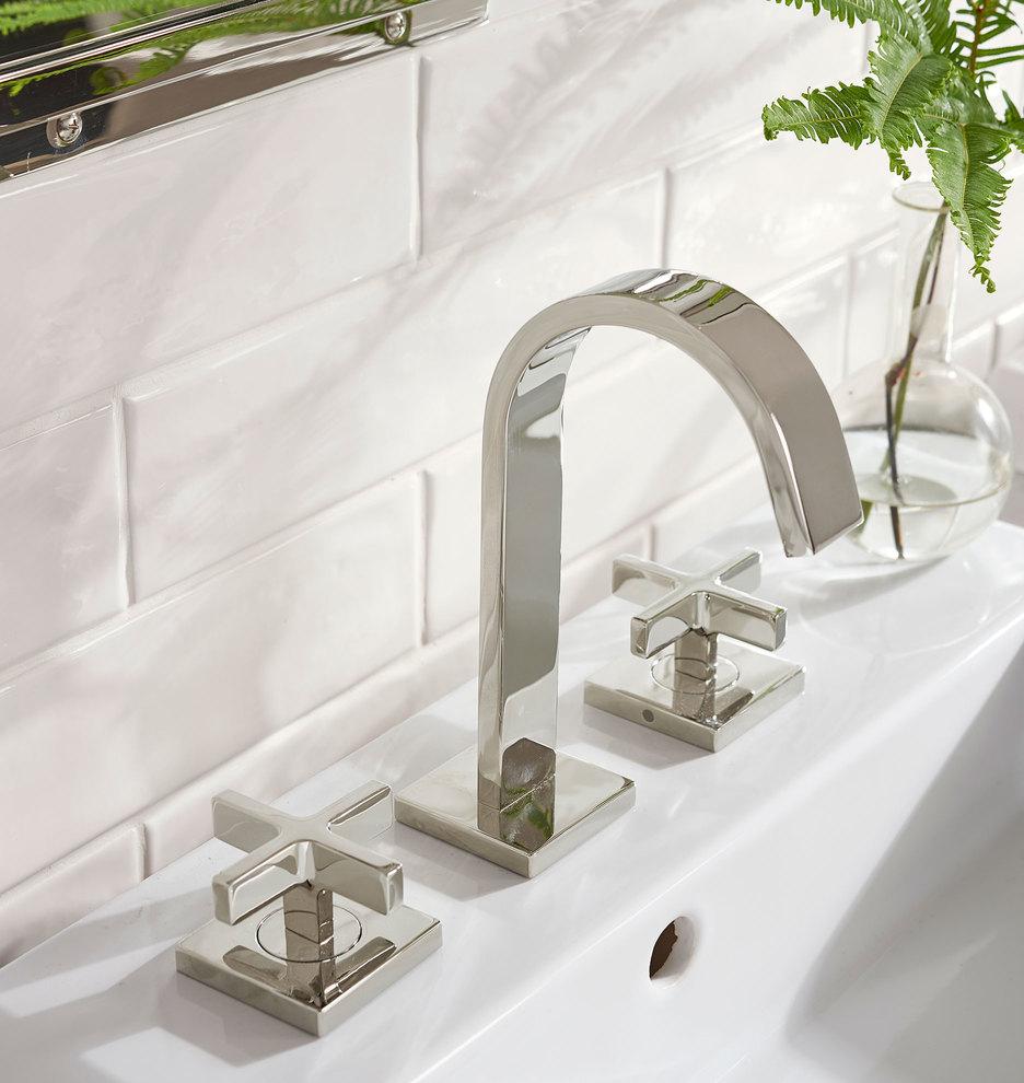 Yaquina Cross Handle Faucet Rejuvenation In 2021 Cross Handle Faucet Faucet Bathroom Improvements [ 990 x 936 Pixel ]