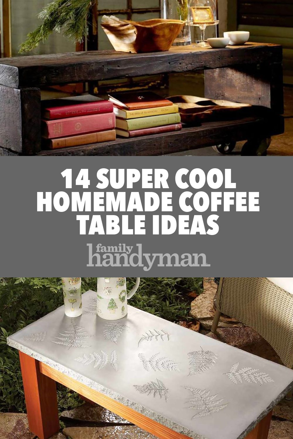 14 Cool Diy Coffee Table Ideas Homemade Coffee Tables Diy